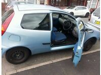 fiat punto 1.2, need it gone asap drives perfect