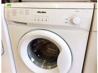 BUSH White WASHING MACHINE + 3 Months Guarantee + FREE LOCAL DELIVERY