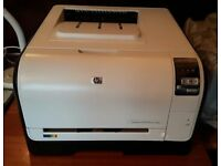 HP Laserjet Pro CP1525nw colour printer. New colour cartridges. Wireless capablility