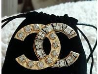 Stunning chanel style brooch