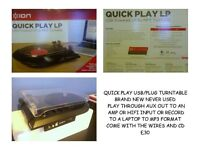RECORD PLAYER RECORD TO MP3 BRAND NEW