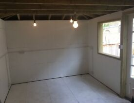 Studio Space available to rent. Suitable for an artist/ freelancer. Shared with a fashion designer.