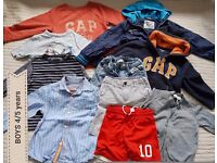 BOYS Bundle of Clothes 4/5 years
