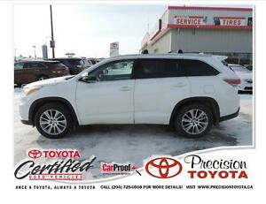 2014 Toyota Highlander XLE Local One Owner, Leather, Heated S...