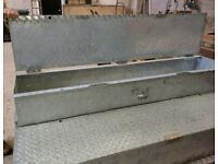 Job site steel lock up tool safe\ box, for trucks vans or garage storage