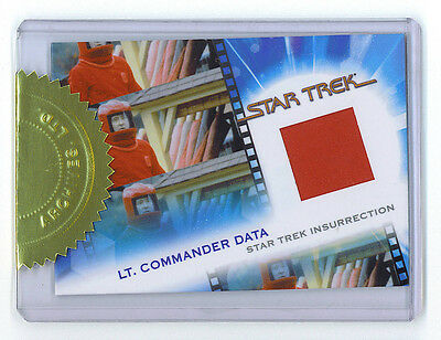 Star Trek Quotable Movie LT. Commander Data Suit Costume Topper #/775 - Data Star Trek Costume