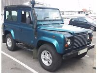 Land Rover Defender 90 TD5 CSW Original Rare Limited Edition Cobar Blue