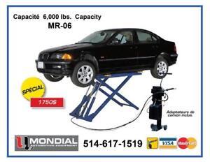Lift 6000Lbs MONDIAL Pont elevateur Machine a pneus Machine a balancer wheel Balancer Hoist  Demonte pneus Tire changer