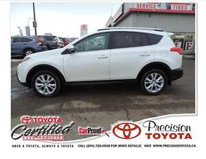 2013 Toyota RAV4 Limited Leather, Backup Camera, Heated Seats...