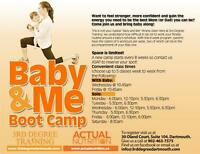 Baby & Me Boot Camp -3rd Degree Training