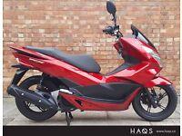 16 Reg Honda PCX 125, As new condition