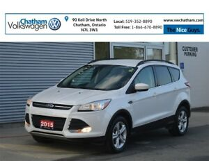 2015 Ford Escape SE AWD 2L Navigation Heated Seats Back up Camer