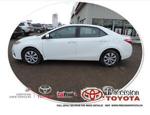 2014 Toyota Corolla S Heated Seats, Bluetooth, Backup Camera