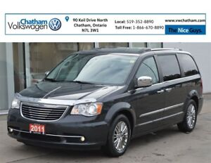 2011 Chrysler Town & Country Navigation Heated Leather Push Butt