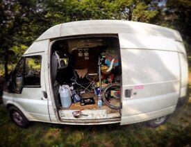 2005 Ford Transit Fitted-Out CAMPER Turbo Deisel