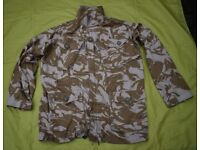 FIRE RETARDANT British MoD Aircrew / Helicopter Crewmans Desert Jacket - XL (180/112)