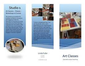 Art classes, tuition and workshops