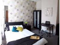 Bright New Modern Double Room inc all Bills - NO DEPOSIT option (3+ month contract considered)
