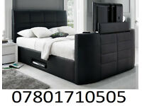 BED BRAND NEW ELECTRIC TV BED AND STORAGE 62