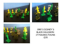 1980'S COLLECTABLE TOYS AND FIGURES