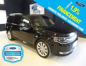 2016 Ford Flex LIMITED AWD ECOBOOST GPS/TOIT, FORD CERTIFIÉ 1.9%