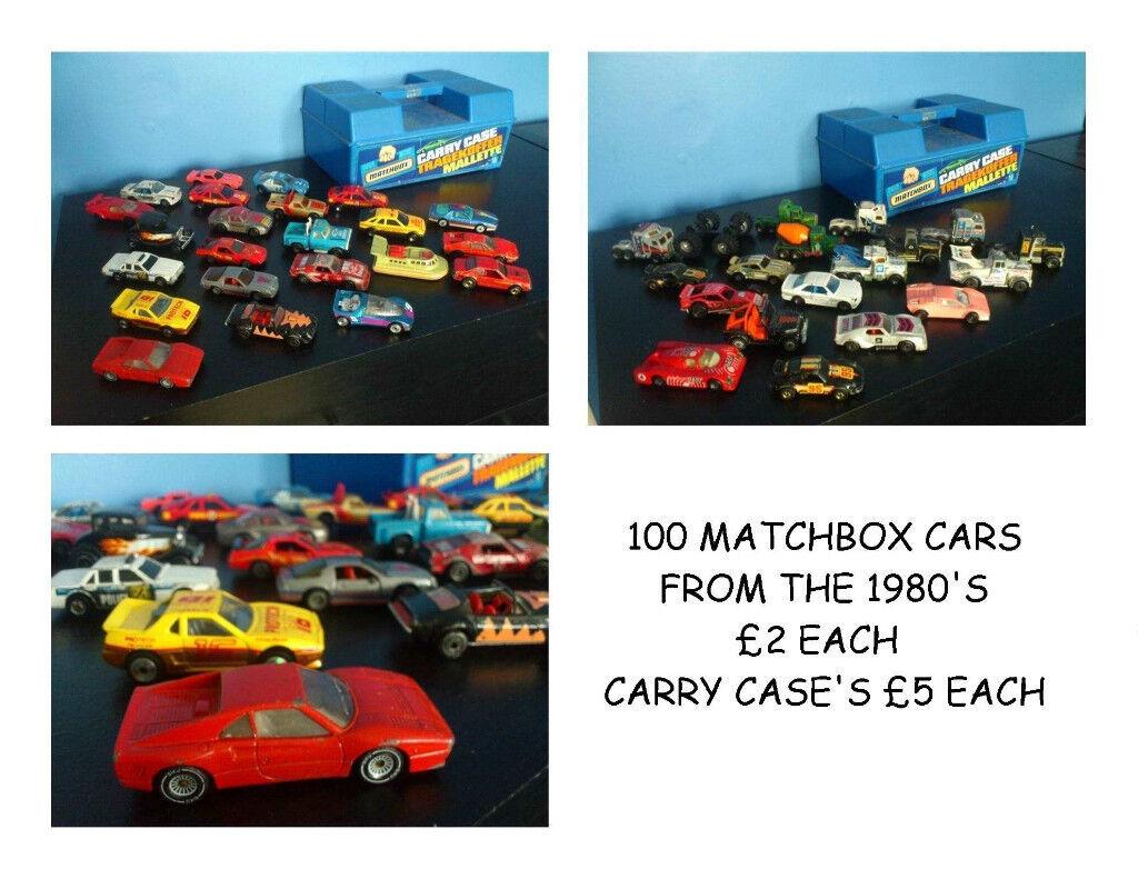70'S 80'S 100+ MATCHBOX CARS TRUCKS LORRIES BOATS DIGGERS TRACTORS SERVICE STATION