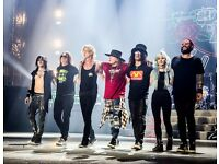 2 Golden Circle tickets for Guns N' Roses reunion with Axl, Slash and Duff, London June 16th
