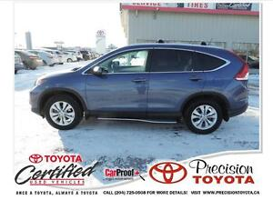 2014 Honda CR-V EX-L Local One Owner, Leather, Running Boards