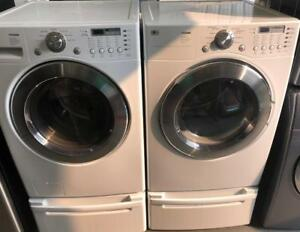 EZ APPLIANCE LG TROMM LAUNDRY SET $849 FREE DELIVERY 403-969-6797