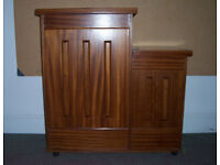 Hand-crafted Mahogony Modern Church Lectern/Reading Desk with Projector Shelf