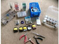 Jewellery Making Kit - includes tools, beads, boxes