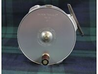 """HARDY The """"BOUGLE"""" MKIV 4"""" Salmon Fly Reel and Spare Spool"""