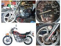 Feiying 125cc motorbike for repairs
