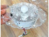 ceiling light x10 including LED bulb