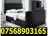 BED BRAND NEW TV BED ELECTRIC TV BED WITH GAS LIFT STORAGE 0450