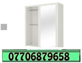 Sliding Wardrobe brand new white