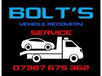 Vehicle recovery in West Sussex and Hampshire