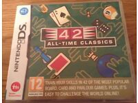 42 All-Time Classics Nintendo DS Game