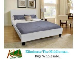 BRAND NEW Double Bed + Pillowtop Mattress (No Box Required) = $299 !!!