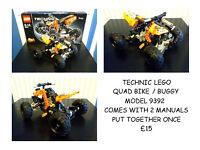 technic lego buggy quad bike