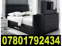 BED ELECTRIC TV BED WITH STORAGE STILL- WRAPPED 93736