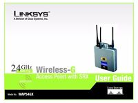 Linksys WAP54G Wi-Fi Access Point. As new, never used.