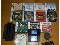 Nintendo DS + 11 Games