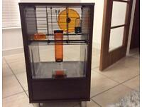 OMLET QUTE HAMSTER AND GERBIL CAGE