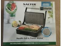 salter grill and panini press new and boxed