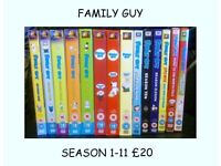 LARGE COLLECTION OF DVDS BOXSETS AND BLURAYS