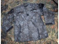 New - Kryptec Typhon Camo Shirt/Jacket + CAP in Size Large