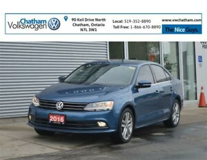 2016 Volkswagen Jetta Highline Heated Leather Backup Camera App