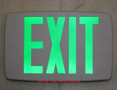 Lithonia Lighting Led Emergency Exit Sign - One Or Two Sided