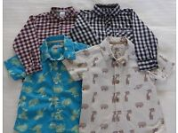 Four lovely baby boys shirts. Age 18 - 24 months